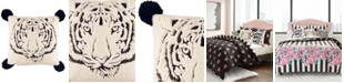 """Betsey Johnson Betsey's Tiger Throw Pillow, 20"""" x 20"""""""