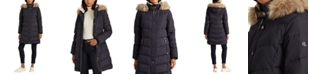 Lauren Ralph Lauren Hooded Down Coat, Created for Macy's