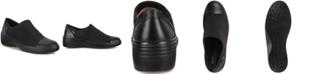 Ecco Women's Soft 7 Wedge GTX Waterproof Slip-Ons