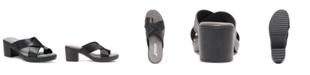 Eastland Shoe Liza Heeled Women's Thong Sandal