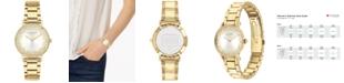 COACH Women's Perry Gold-Tone Bracelet Watch 28mm