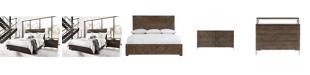 Furniture Logan Square Bedroom 3-Pc. Set (King Bed, Dresser & Nightstand), By Bernhardt