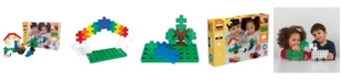 Plus-Plus - Big 60 Piece Learn to Build Big Basic Color Mix - Construction Building Steam Toy