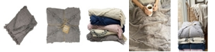 Elrene Farmhouse Living Diamond Tufted Throw Blanket, 50 x 60