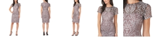 JS Collections Short-Sleeve Cocktail Dress