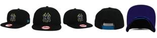 New Era New York Yankees Aqua Hook Basic 9FIFTY Snapback Cap