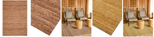 """D Style CLOSEOUT! Natural Jute 3'6"""" x 5'6"""" Area Rug"""