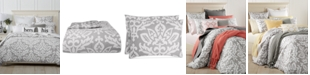 Charter Club CLOSEOUT! Cotton Smoke 3-Pc. Full/Queen Comforter Set, Created for Macy's