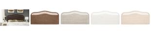 Furniture Kallee Rattan Headboard, Quick Ship