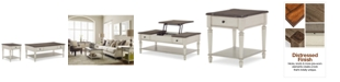 Furniture Barclay Table Furniture Set, 2-Pc. Set (Coffee Table & End Table)