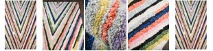 "Novogratz Collection Novogratz by Momeni Bungalow BUN04 Multi 2' 3"" x 8'  Runner Area Rug"