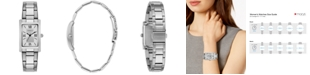 Caravelle  Women's Stainless Steel Bracelet Watch 21x33mm