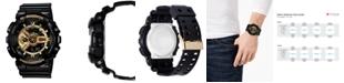 G-Shock Men's Analog Digital Black Resin Strap Watch