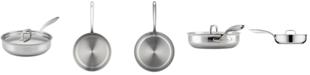Breville Thermal Pro Clad Stainless Steel 3.5-Qt.  Sauté Pan & Lid