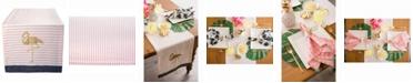 "Design Imports Golden Flamingo Table Runner 14"" X 108"""