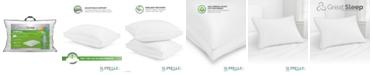 """Great Sleep Suprelle Flex Fiber 2"""" Gusset Pillows"""