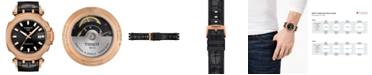 Tissot Men's Swiss Automatic T-Race Swissmatic Black Rubber Strap Watch 49mm