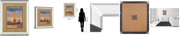 """Classy Art The Beginning of The Evening by Marilyn Hageman Mirror Framed Print Wall Art, 34"""" x 40"""""""