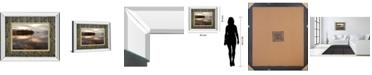 """Classy Art Golden Lake by Peter Adams Mirror Framed Print Wall Art, 34"""" x 40"""""""