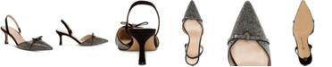 INC International Concepts INC Women's Gelsey Slingback Kitten-Heel Pumps, Created for Macy's