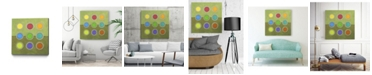 """Giant Art 20"""" x 20"""" Circle Grid I Museum Mounted Canvas Print"""