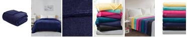 Intelligent Design Microlight Plush Full/Queen Oversized Blanket