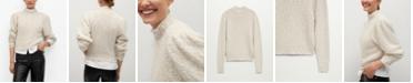 MANGO Women's Textured Sweater