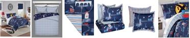 Waverly Kids All Aboard Reversible Twin Comforter Set, 2 Piece