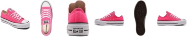 Converse Womens Chuck Taylor All Star Lift Platform Low Top Casual Sneakers from Finish Line