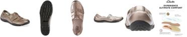 Clarks Collection Women's Haley Stork Slip-On Flats