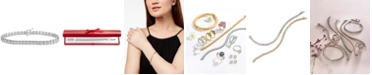 Macy's Diamond Tennis Bracelet (2 ct. t.w.) in 14k White, Rose Gold or Yellow Gold