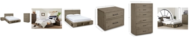 Furniture Brandon Storage Platform Bedroom Furniture, 3-Pc. Set (Full Bed, Chest & Nightstand), Created for Macy's