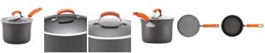 Rachael Ray 3-Qt. Hard-Anodized Aluminum 3-Qt. Non-Stick Saucepan & Lid