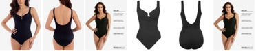 Miraclesuit Escape One-Piece Allover Slimming Underwire Swimsuit
