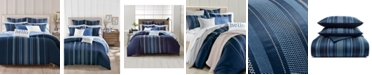 Charter Club CLOSEOUT! Embroidered Lattice 300-Thread Count 2-Pc. Twin Comforter Set, Created for Macy's