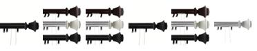 "Rod Desyne Bach Decorative Traverse Rod w/ Sliders 30""- 48"""