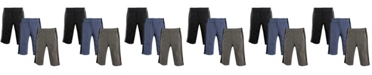 Hudson Baby Baby Athletic Pants, 3-Pack, 0-24 Months