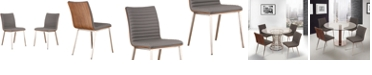 Armen Living Cafe Dining Chair (Set of 2)