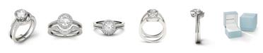 Charles & Colvard Moissanite Bridal Set (1-1/6 ct. t.w. Diamond Equivalent) in 14k white gold