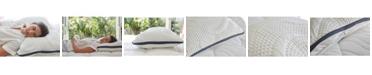 Brentwood Home Oceano Adjustable Comfort Gel Memory Foam 3 Chamber Pillow Collection