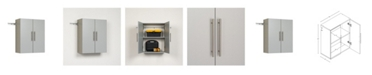 "Prepac Hang-ups 24"" Upper Storage Cabinet"