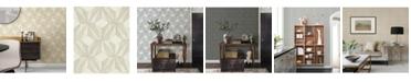 """A-Street Prints 21"""" x 396"""" Paragon Geometric Wallpaper"""