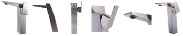 ALFI brand Brushed Nickel Single Hole Tall Bathroom Faucet