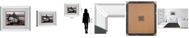 "Classy Art Boomerang by Aaron Reed Mirror Framed Print Wall Art, 34"" x 40"""