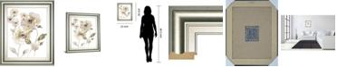 """Classy Art Translucent Garden II by Nan Framed Print Wall Art, 22"""" x 26"""""""