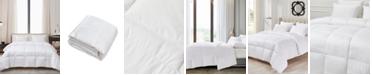 Cannon Ultra-Soft Nano-Touch Light Warmth White Down Fiber Comforter, Twin