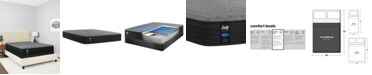 "Sealy Premium Posturepedic Chestnut St 12.5"" Cushion Firm Mattress Set- Full"
