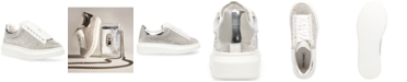 Steve Madden Women's Glimmer-R Flatform Lace-Up Sneakers