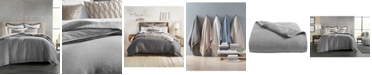 Hotel Collection Grey Linen King Duvet Cover, Created for Macy's