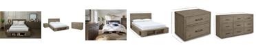 Furniture Brandon Storage Platform Bedroom Furniture, 3-Pc. Set (Queen Bed, Dresser & Nightstand), Created for Macy's